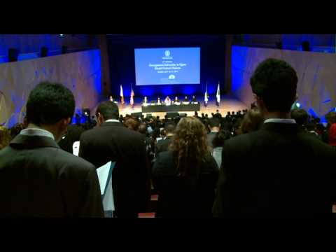 Video of 9th Annual Georgetown in Qatar MUN Opening Ceremony