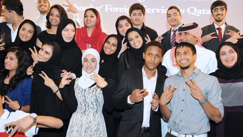 Georgetown Helps High School Students