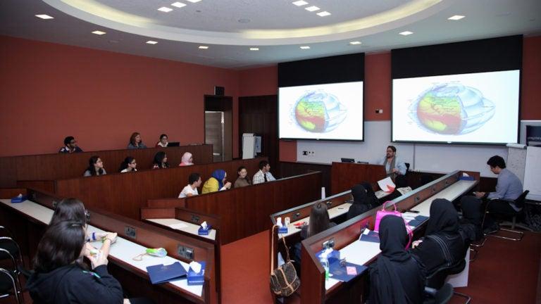 Qatar High School Students Hone Research Skills at Planet Georgetown Week
