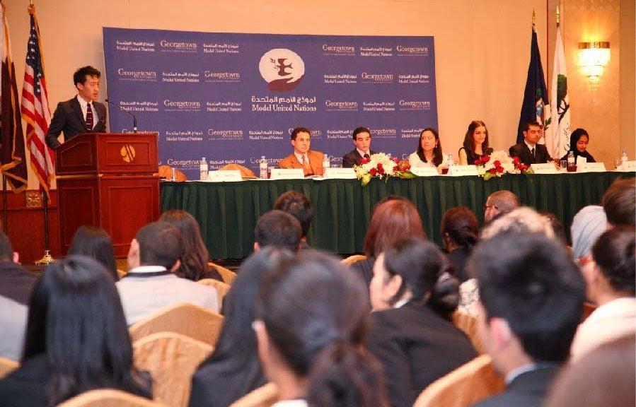 مؤتمر نموذج الأمم المتحدة 2013 في الدوحة يطرح رؤى جديدة حول أبرز القضايا الإقليمية والدولية