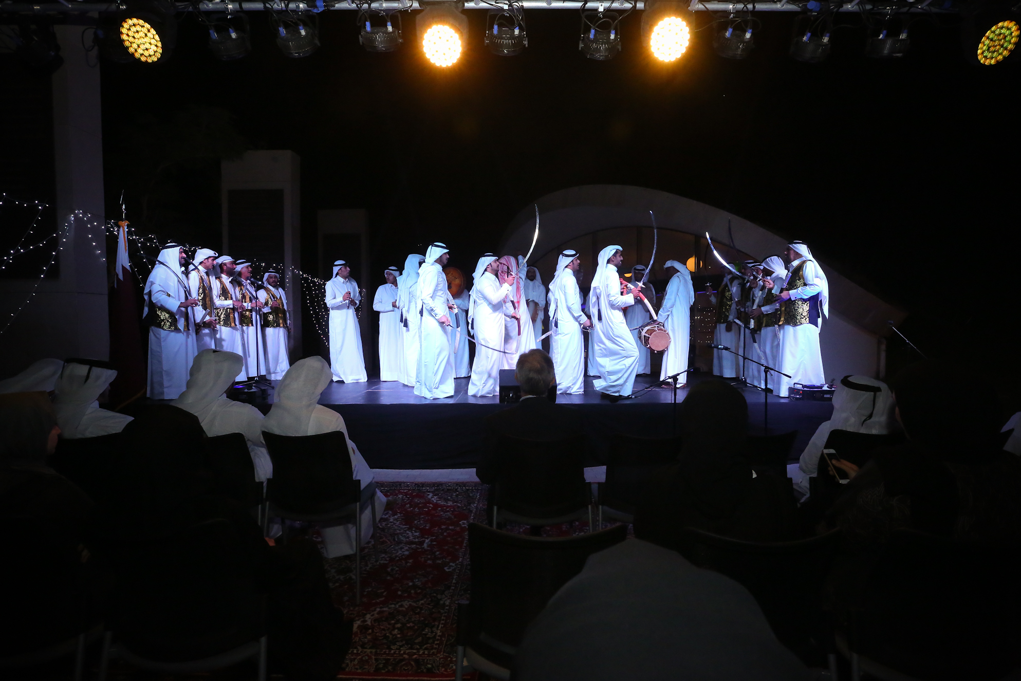 Georgetown celebrating Qatar National Day