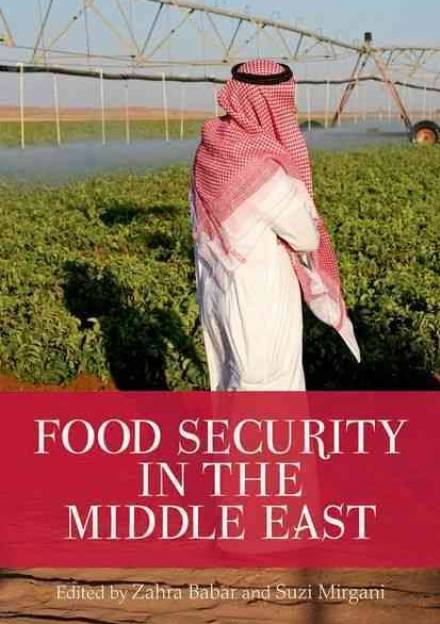 Book cover of Food Security in the Middle East by Zahra Babar and Suzi Mirgani.
