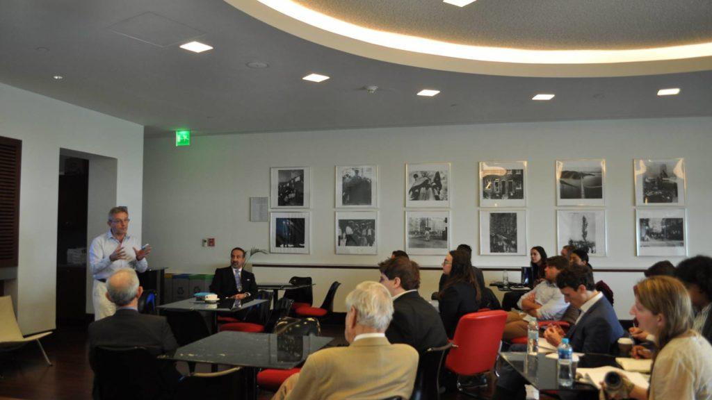 Johns Hopkins University – School of Advanced International Studies (SAIS) Student Delegation Visits GU-Q