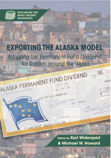Book cover of Exporting the Alaska Model: Adapting the Permanent Fund Dividend for Reform Around the World by Karl Widerquist and Michael W. Howard
