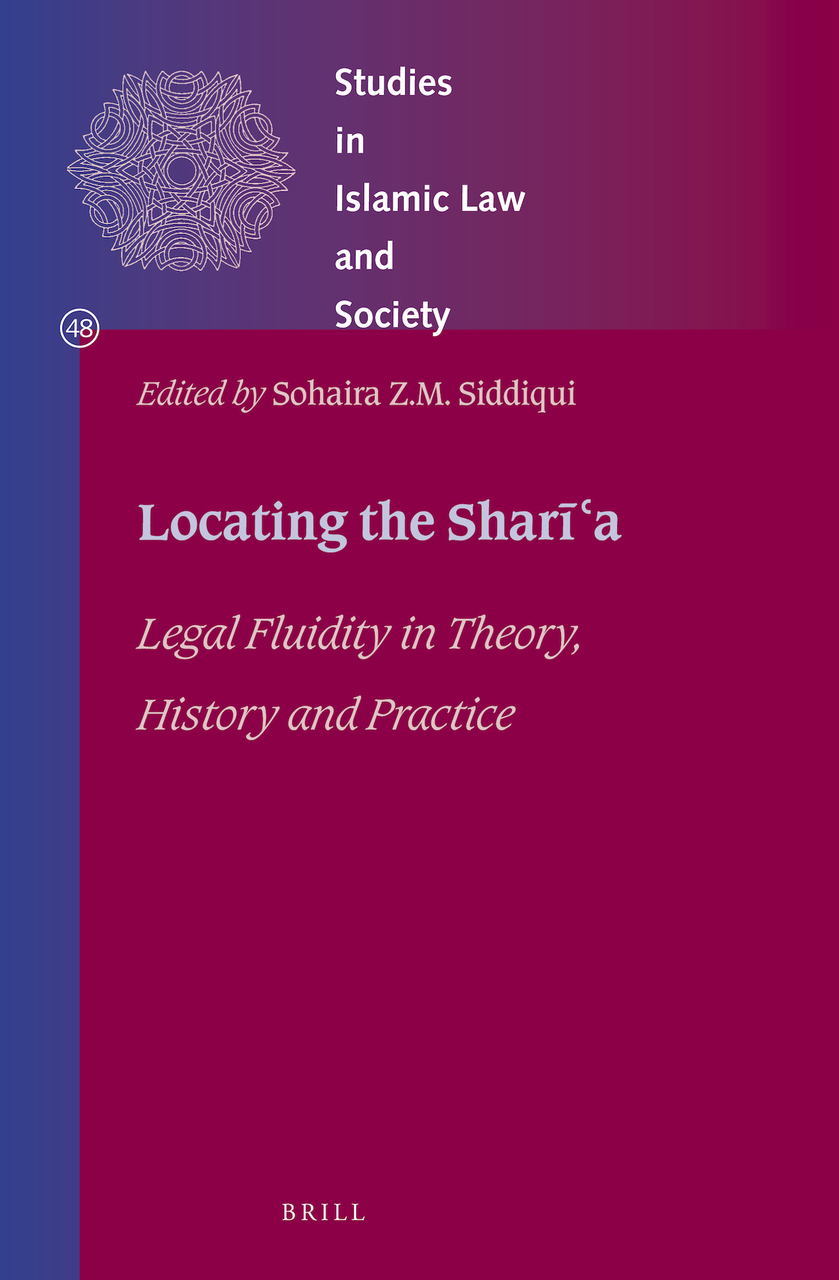 Book cover of Locating the Sharia by Sohaira Siddiqui