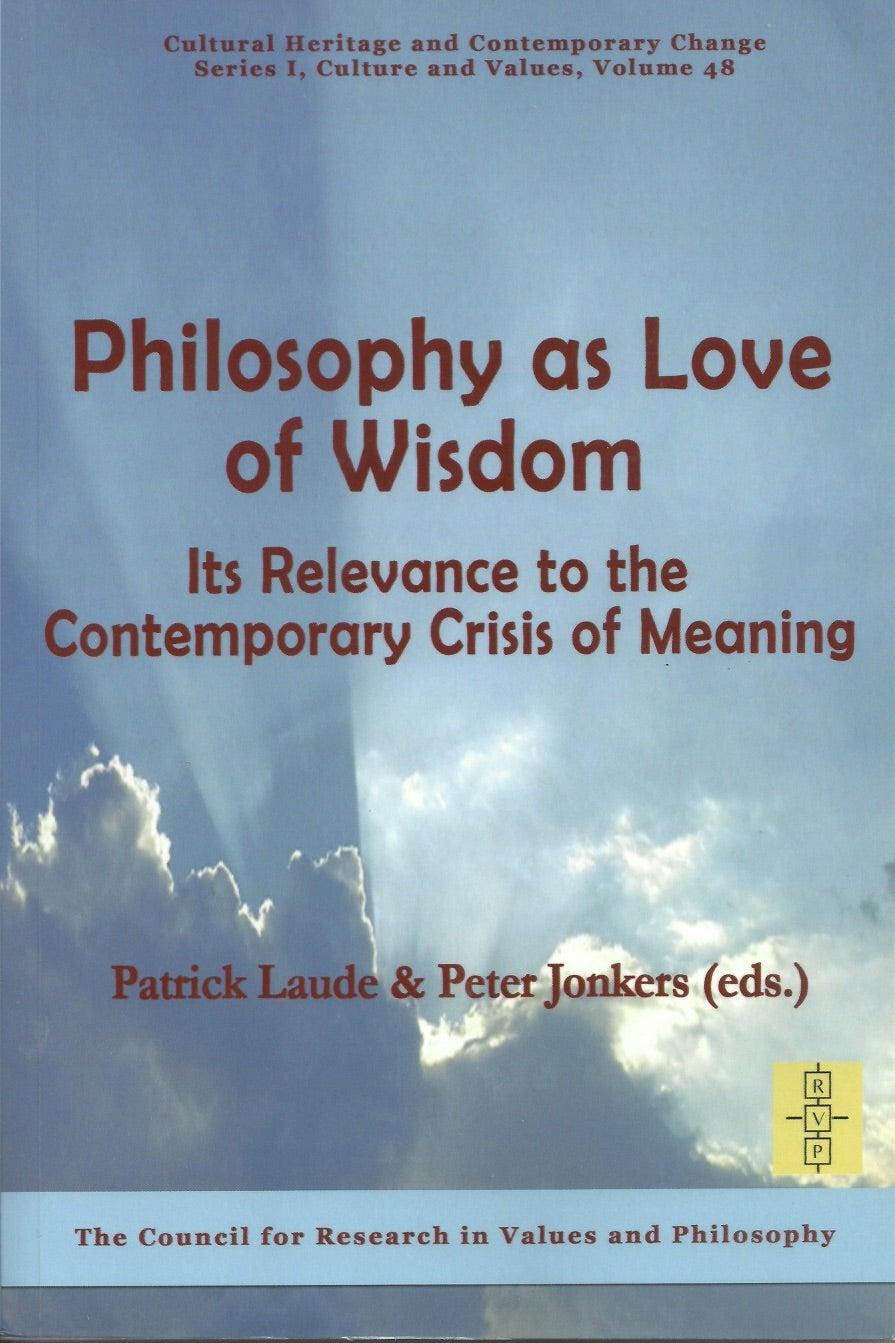 Patrick Laude - Philosophy as Love of Wisdom