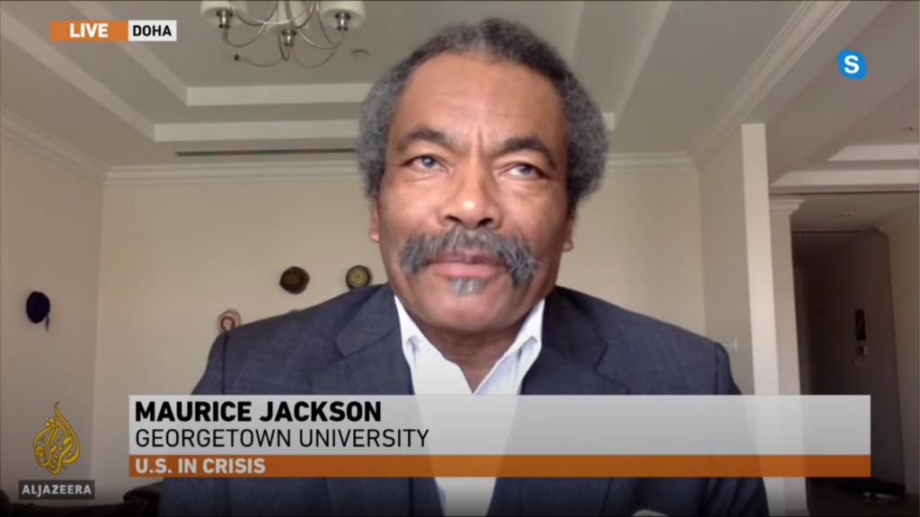 Prof. Maurice Jackson on Al Jazeera
