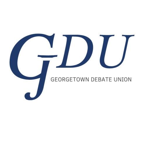 Georgetown Debating Union Logo