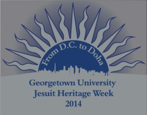 Logo for Jesuit Heritage Week (JHW) at Georgetown in Qatar, 2014