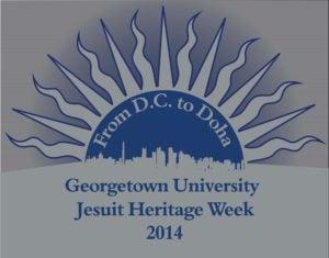 Logo for Jesuit Heritage Week (JHW) at Georgetown in Qatar, 2014