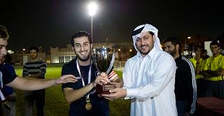 SFS-Q men's football team winner