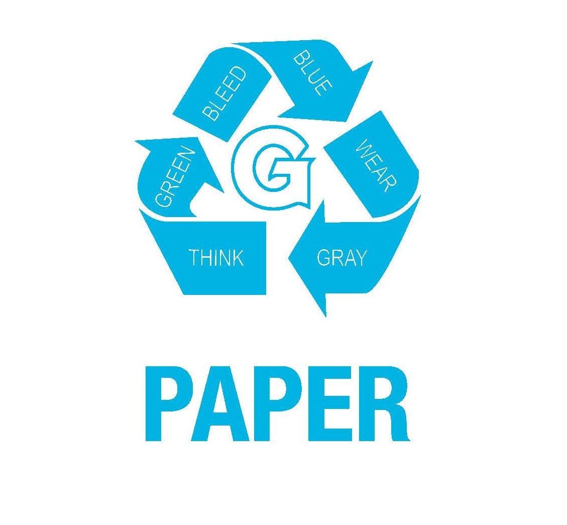 GUQ Paper Recycling Logo
