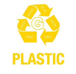 GUQ Plastic Recycling Logo