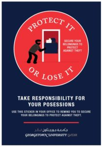 Protect yourself poster
