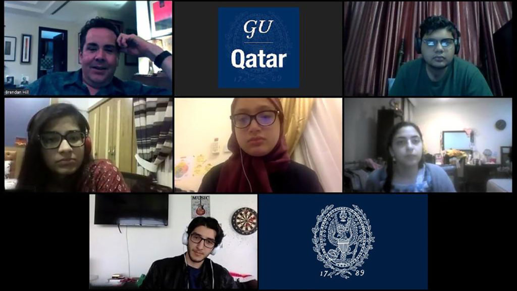 GU-Q Students Recreate QF Communities Online