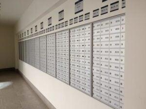 Mailboxes at GU-Q
