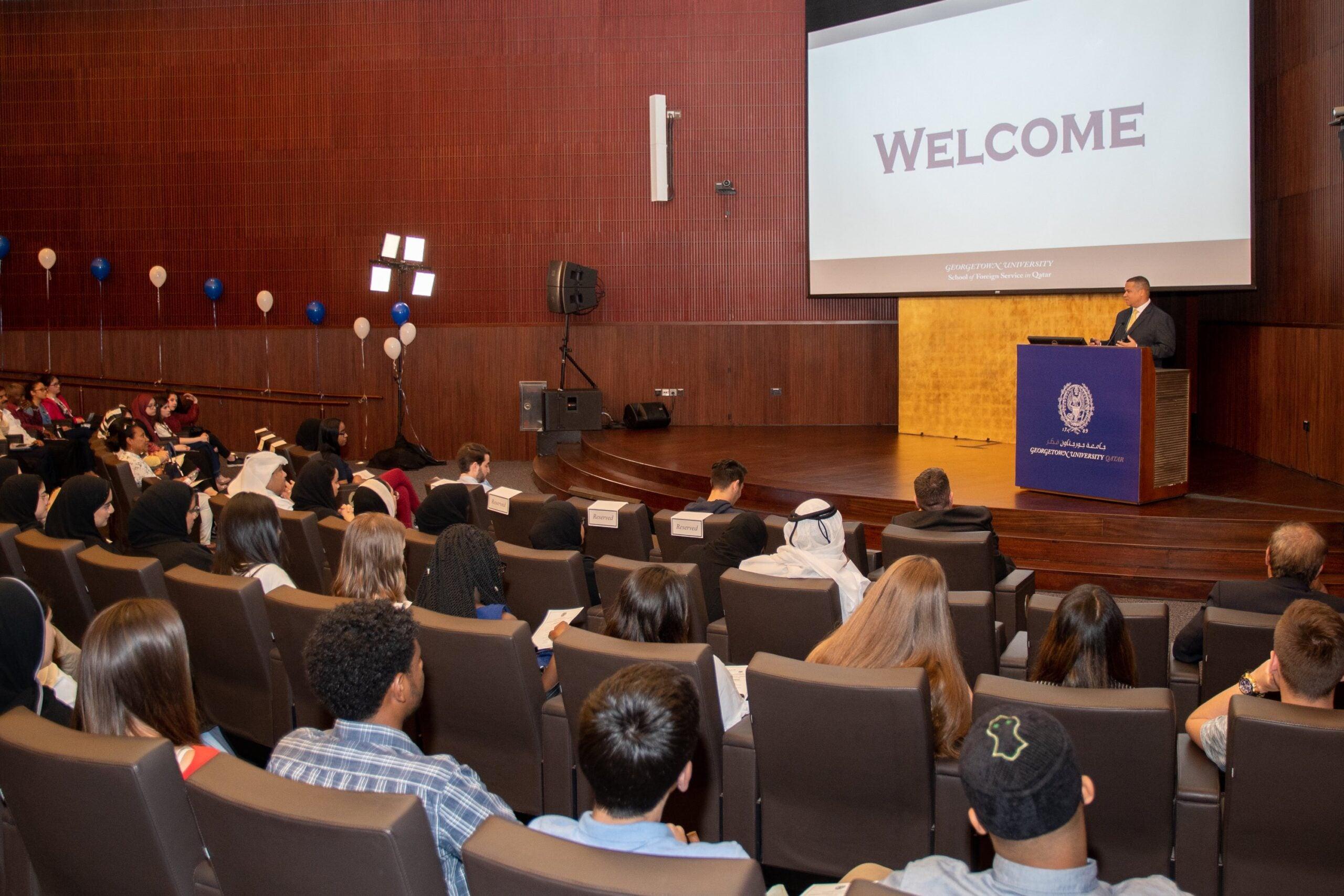 Undergraduates at GU-Q
