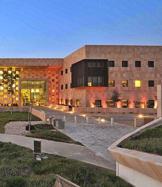 Georgetown University in Qatar building