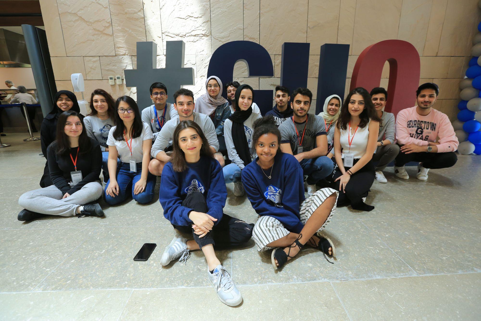 Students at GU-Q