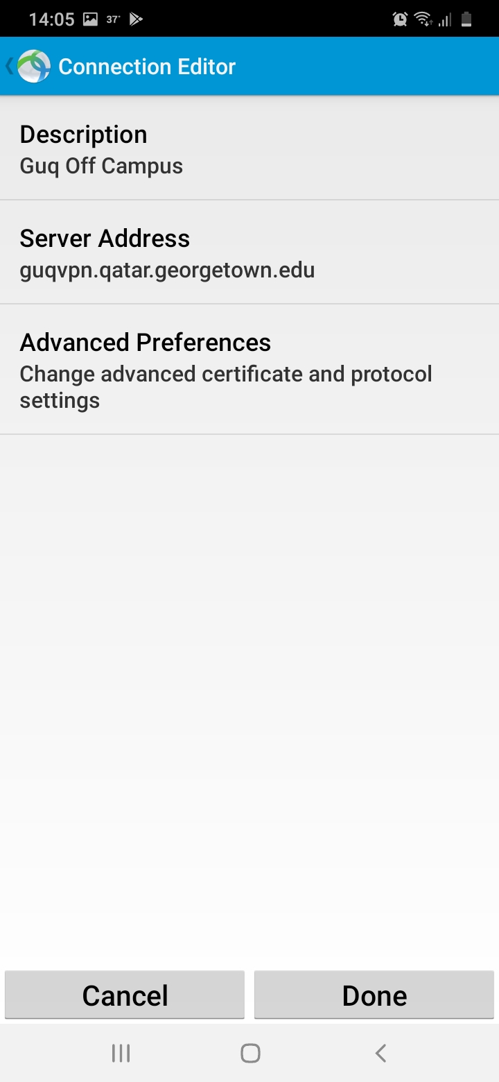 Vpn new address Android 2