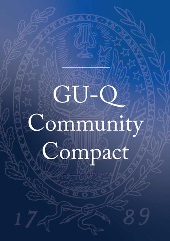 Link to GU-Q Community Compact