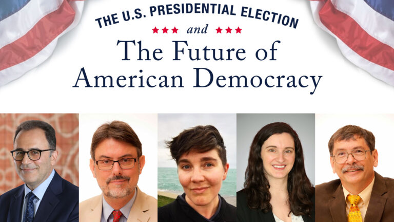 Public Webinar Offers Insights into Post Trump America