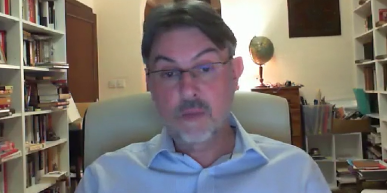 Professor Anatol Lieven at the Franklin Inn