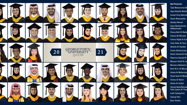 Georgetown Virtual 2021 Commencement Ceremony Celebrates 71 Seniors