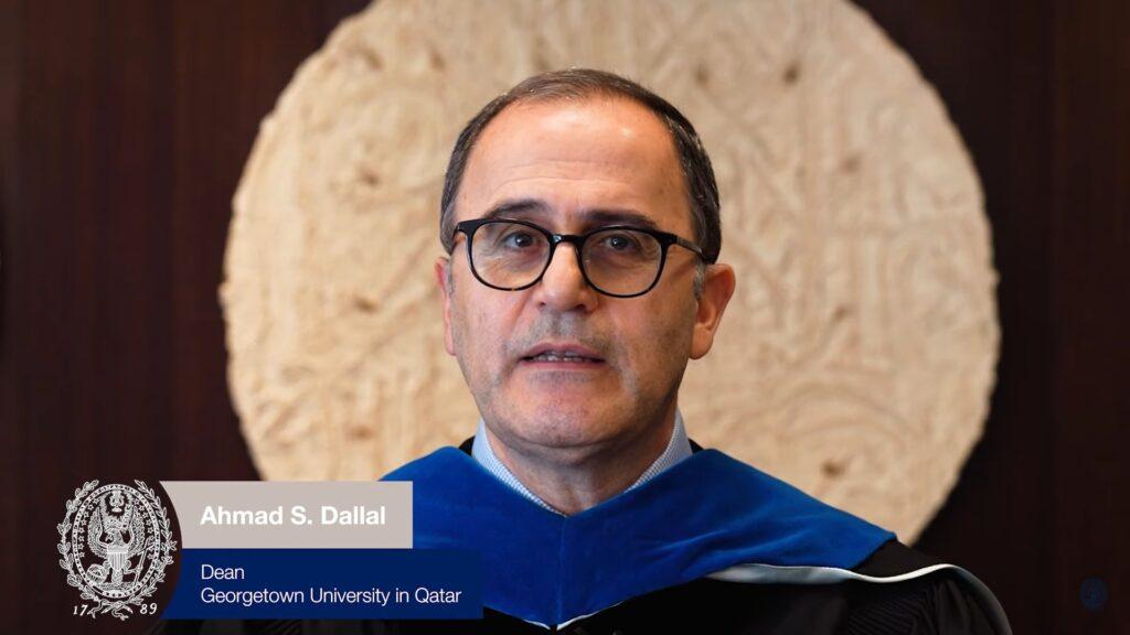 Dean of GU-Q, Dr. Ahmad Dallal